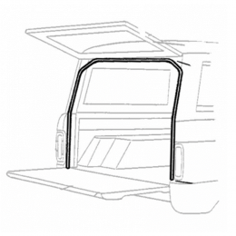 Liftgate & Tailgate Seal - Top & Sides