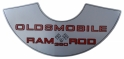"""Ram Rod 350"" Air Cleaner Decal"