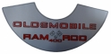 """Ram Rod 400"" Air Cleaner Decal"