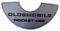 """Rocket 455"" Air Cleaner Decal"