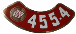 455-4V Air Cleaner Decal