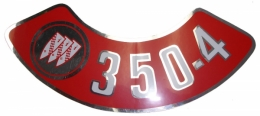 Air Cleaner Decal - 350-4V