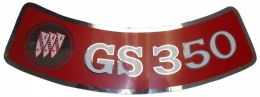 Air Cleaner Decal - GS 350