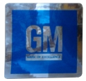 GM Mark Of Excellence Door Decal