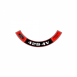 429 4V Air Cleaner Decal