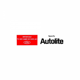 Autolite Replacement Parts Air Cleaner Decal