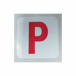 "Paint OK ""P"" Decal"