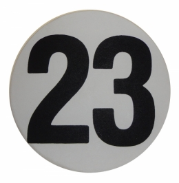 "Assembly Line Production Day Window Sticker - ""23"""