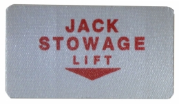 Jack Stowage Curtain Decal