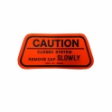 "California Gas Cap ""Caution"" Decal"