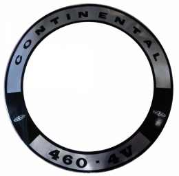 """460 4V"" Air Cleaner Decal"