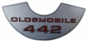 """442"" Air Cleaner Decal"