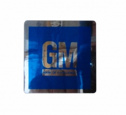 GM Mark of Excellence Decal