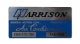 Harrison AC Evaporator Box Decal