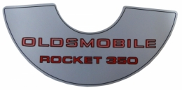 """Rocket 350"" Air Cleaner Decal"