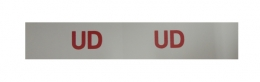 """UD"" Engine Code Decal"