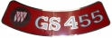 Air Cleaner Decal - GS 455