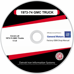 1973-1974 GMC Heavy Duty Trucks Shop Manuals & Sales Brochures on CD
