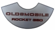 """Oldsmobile Rocket 350"" Air Cleaner Decal"