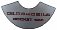 """Oldsmobile Rocket 455"" Air Cleaner Decal"