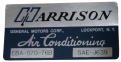 """Harrison"" AC Evaporator Box Decal"