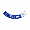 Air Cleaner Decal - 302-2V