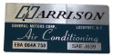 Air Conditioner Evaporator Box Decal