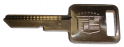 Key Blank - Ignition / Door - WITH Cadillac Logo