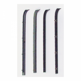 Window Beltline Weatherstrip Kit - Rear Door - 4 Pc.