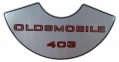 """Oldsmobile 403"" Air Cleaner Decal"