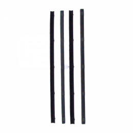 Beltline Weatherstrip - Also Called Window Sweeps, Felts Or Fuzzies - 4 Pc. Kit for Inner & Outer