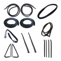 Master Weatherstrip Kit - With Black Windshield Lockstrip