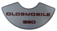 """Oldsmobile 350"" Air Cleaner Decal"