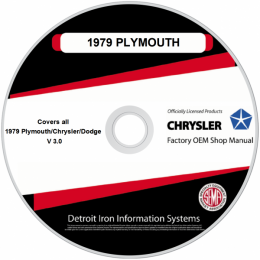1979 Plymouth Chrysler Dodge Shop Manuals & Sales Brochures on CDRom