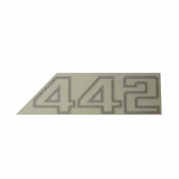 """442"" Fender Decal"