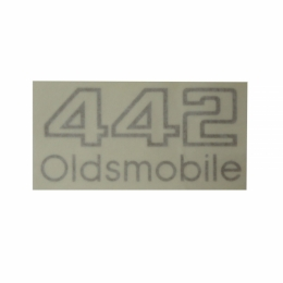 """Oldsmobile 442"" Front Bumper Decal"