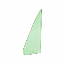 Vent Window Glass LH - Green