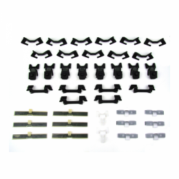 Windshield Trim / Molding Clip Kit - 39 pc.