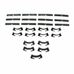 Windshield Trim / Molding Clip Kit - 25 pc.