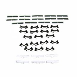 Windshield Trim / Molding Clip Kit - 38 pc.