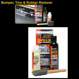 Forever Black Rubber Part, Weatherstrip & Trim Restorer