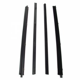 Beltline Weatherstrip - Also Called Window Sweeps, Felts Or Fuzzies - 4 Pc. Kit - Models With Vent Windows