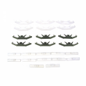 Windshield Trim / Molding Clip Kit - 24 pc.