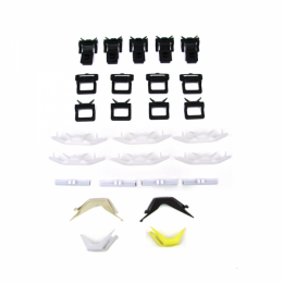 Windshield Trim / Molding Clip Kit - 27 pc. For Models With Chrome In Side Moldings