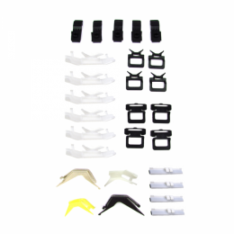 Windshield Trim / Molding Clip Kit - 27 pc. For Models With All Black Side Moldings