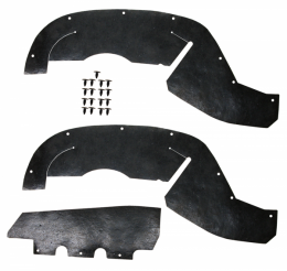 1995 Chevy/GMC Restoration Parts A Arm / Inner Fender Dust Shield Kit - 03-184M