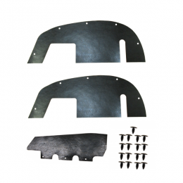 1997 Chevy/GMC Restoration Parts A Arm / Inner Fender Dust Shield Kit - 03-228M