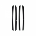 Beltline Weatherstrip - Outer For All 4 Doors - Also Called Window Sweeps, Felts Or Fuzzies - 4 Pc. Kit