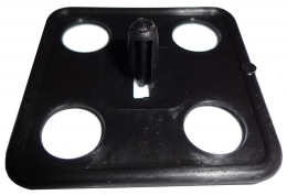 "Hood Insulation Clip - 2"" Square For 1/4"" Hole"