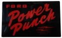 Ford Power Punch Battery Decal